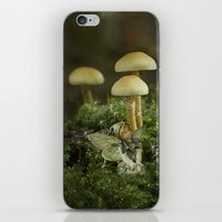 Pixie and 'shrooms iPhone & iPod Skin