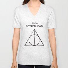 I am a Potterhead Unisex V-Neck
