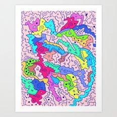 Love is the Way Art Print