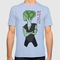 Sebastian Bok Choy Mens Fitted Tee Athletic Blue SMALL