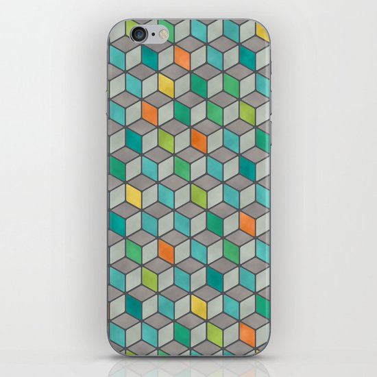 Block Party iPhone & iPod Skin
