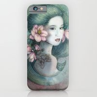 Magnolias In This Dusk iPhone 6 Slim Case