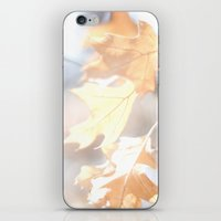 Abstract Oak Leaves iPhone & iPod Skin