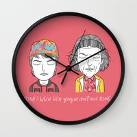 Roads? Where We're Going… Wall Clock