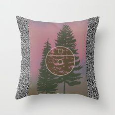One E. Round Throw Pillow