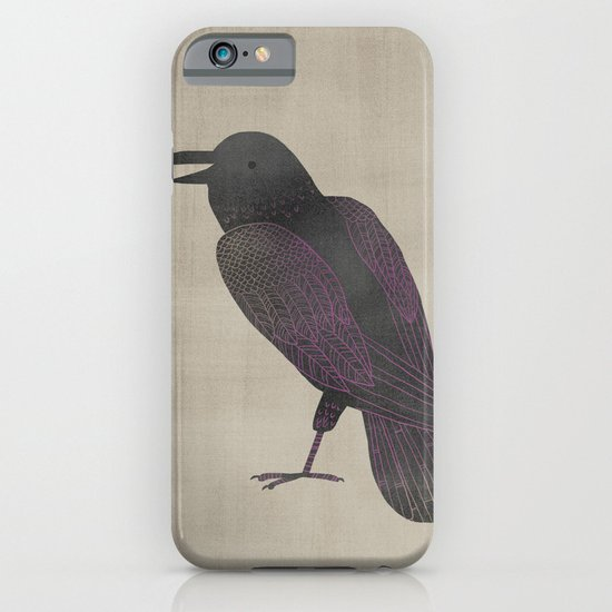 Baba the Raven iPhone & iPod Case