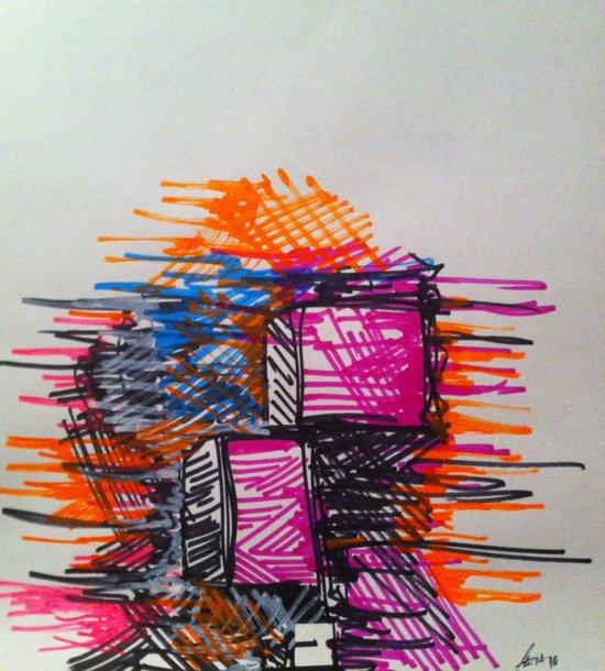 Process Art Print