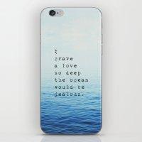 Love So Deep iPhone & iPod Skin