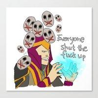 Silencer DotA2 Canvas Print