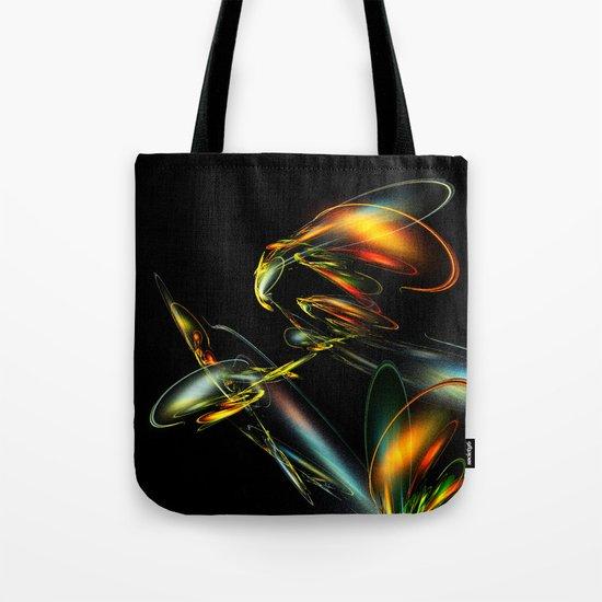 Lightning Bug Tote Bag