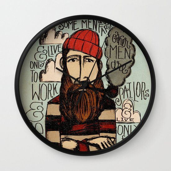 SOME MEN ARE SAILORS Wall Clock