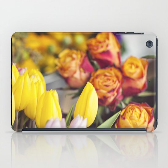 Market Tulips iPad Case