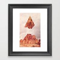 Montaña Abajo Framed Art Print