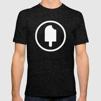 Fudgesicle! Mens Fitted Tee Tri-Black SMALL
