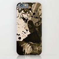 iPhone & iPod Case featuring Penser : Combat mental. by Doche Lps