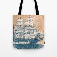 Age Of Exploration Tote Bag