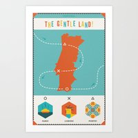 Portugal - The Gentle La… Art Print