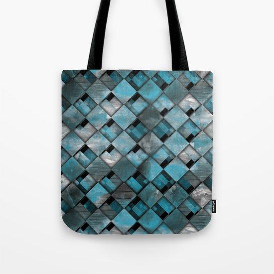 SquareTracts Tote Bag