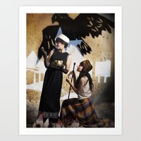 The Feather Of Finest Th… Art Print