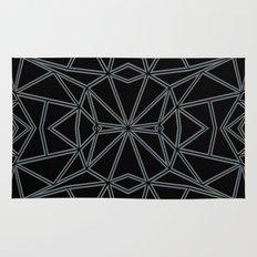Ab Star Black and Grey Rug