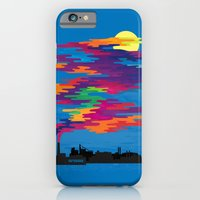 iPhone & iPod Case featuring Hidden in the Smog (day) by Joe Van Wetering