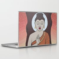 buddha Laptop & iPad Skins featuring Buddha     by Marjolein