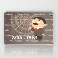 Nikola Tesla Laptop & iPad Skin