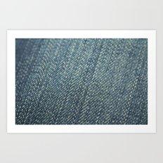jeans Art Print