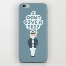 Indifferent Captain iPhone & iPod Skin