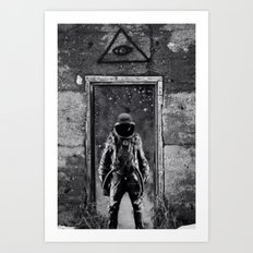 The man from earth Art Print