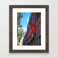Red Sox - 2013 World Ser… Framed Art Print