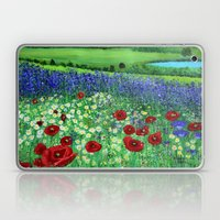 Blooming field Laptop & iPad Skin