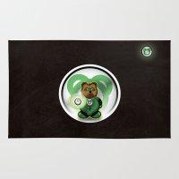 Super Bears - the Green One Rug