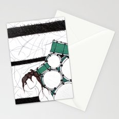 Drum Man Stationery Cards