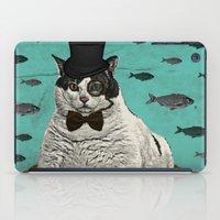 Fat Cat Print iPad Case
