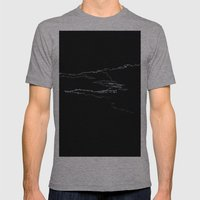 CLOUD 9 Mens Fitted Tee Athletic Grey SMALL