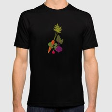 Vegetable Medley Mens Fitted Tee SMALL Black
