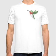 Muttervogel SMALL White Mens Fitted Tee