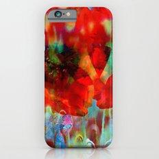 Simple as flowers Slim Case iPhone 6s