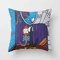 IT'S EVEN WORSE Than WE … Throw Pillow
