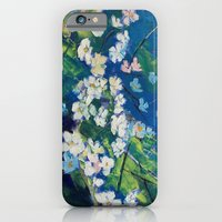 iPhone & iPod Case featuring Cherry Blossoms by Michael Creese