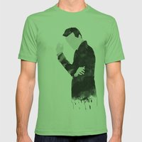 Moriarty Mens Fitted Tee Grass SMALL