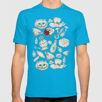Wear To Wonderland – S… Mens Fitted Tee Teal SMALL