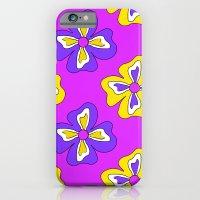 Pop pansy pattern! iPhone 6 Slim Case