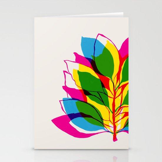 Blossom CMYK Stationery Card