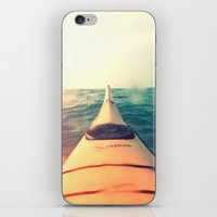 Yellow Kayak In Water Co… iPhone & iPod Skin