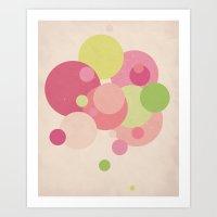 Balloons//Five Art Print