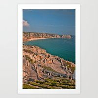 Minack Theater   Art Print