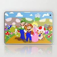 Mario & Friends Laptop & iPad Skin