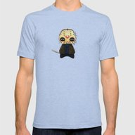 A Boy - Jason ( Friday … Mens Fitted Tee Tri-Blue SMALL